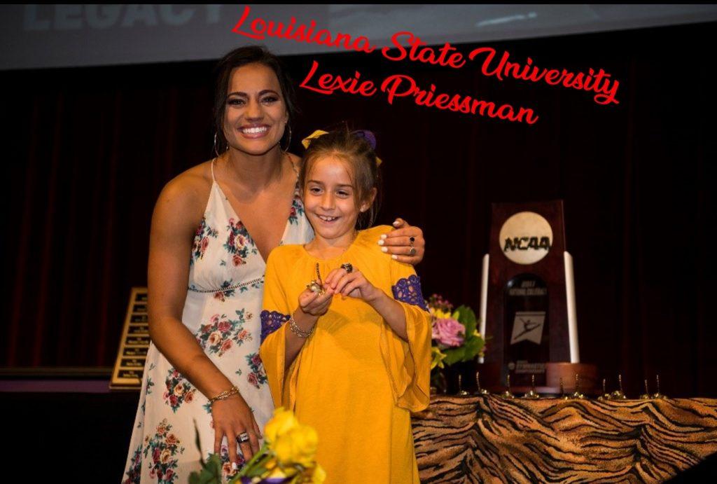 Lexie Priessman RAK Award