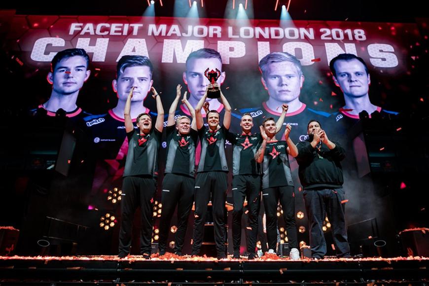 Astralis Faceit Major London Champions