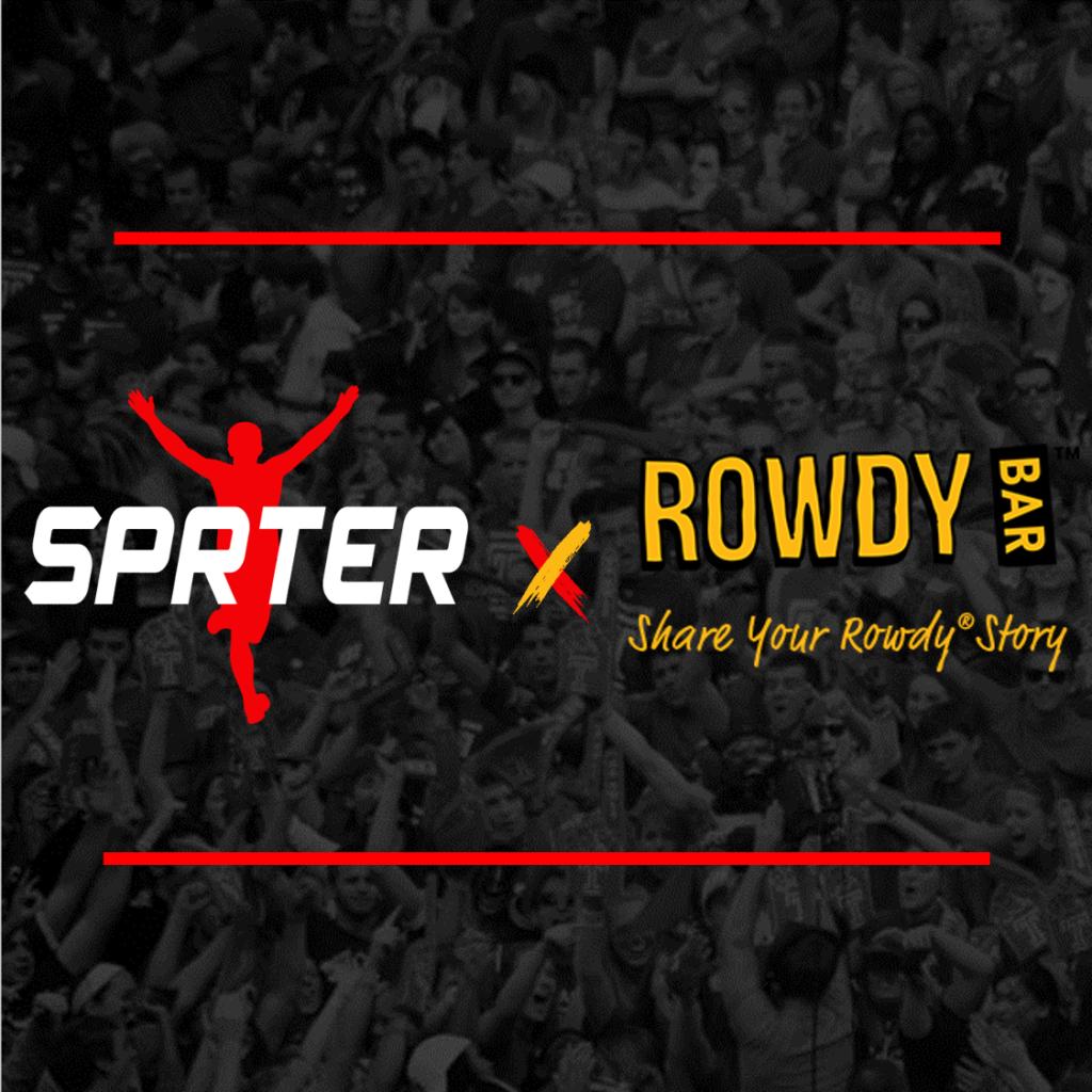 Rowdy Bars x SPRTER